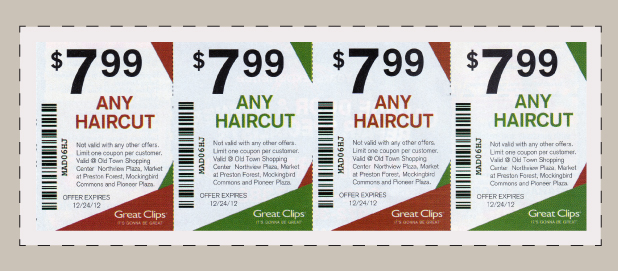 Great Clips Coupons Promo Codes May 2018