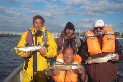 pesca de pejerrey en beriso 8/9/2012