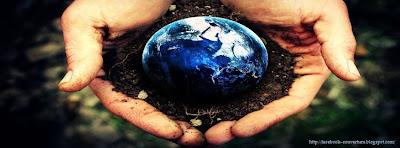 Couverture facebook la terre