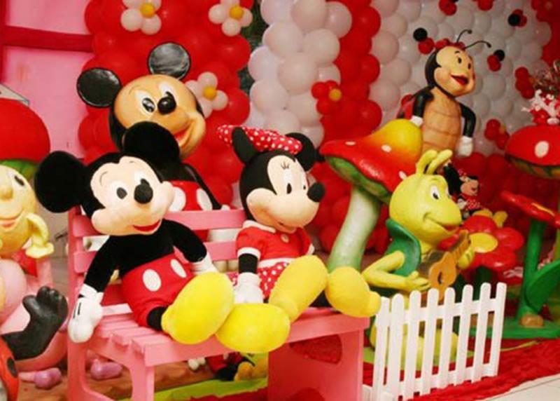 Fiesta Tem  Tica Con Globos De Minnie Mouse   Birthday Party