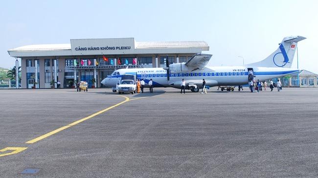 Gia Lai: Dự kiến đầu tháng 9/2015 sân bay Pleiku sẽ đưa vào khai thác trở lại