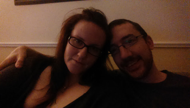 Me and the hubby at Christmas in Ireland