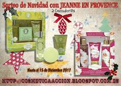 """Sorteo de """"Cosmetica en Accion"""" y Jeanne en Provence"""