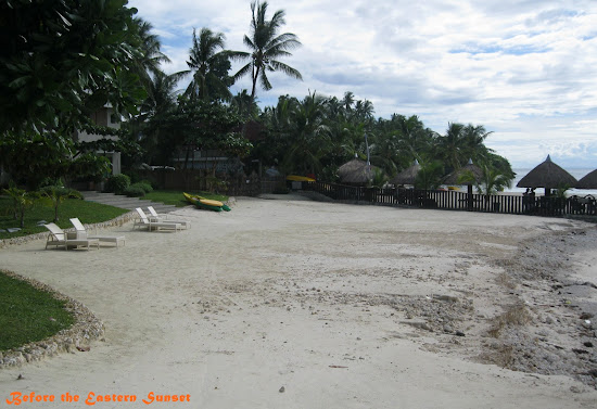 Camotes Island - Mangodlong Paradise Resort beach