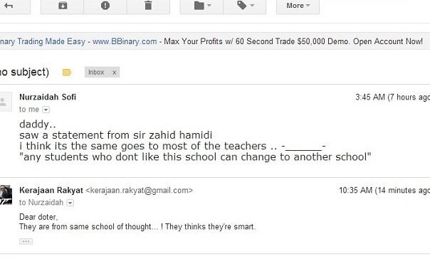 Nurzaidah: Kenyataan Zahid Hamidi sama seperti sesetengah guru