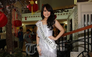 Miss Indonesia 2013 Vania Larissa