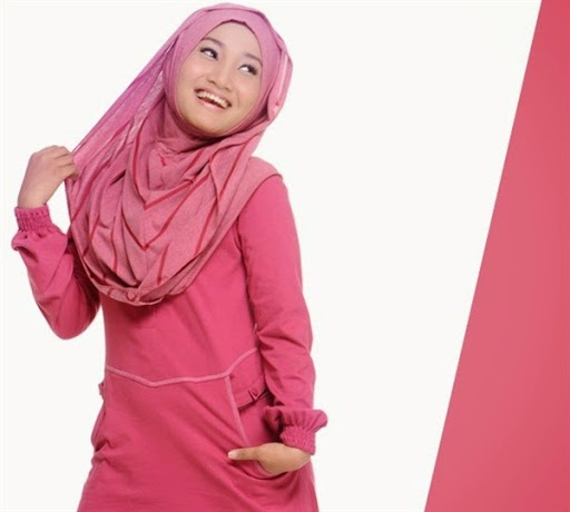 trend model gaya hijab ala fathin terbaru 2015/2016