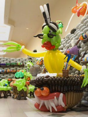 Airigami Balloon Sculptures by Larry Moss Seen On www.coolpicturegallery.us