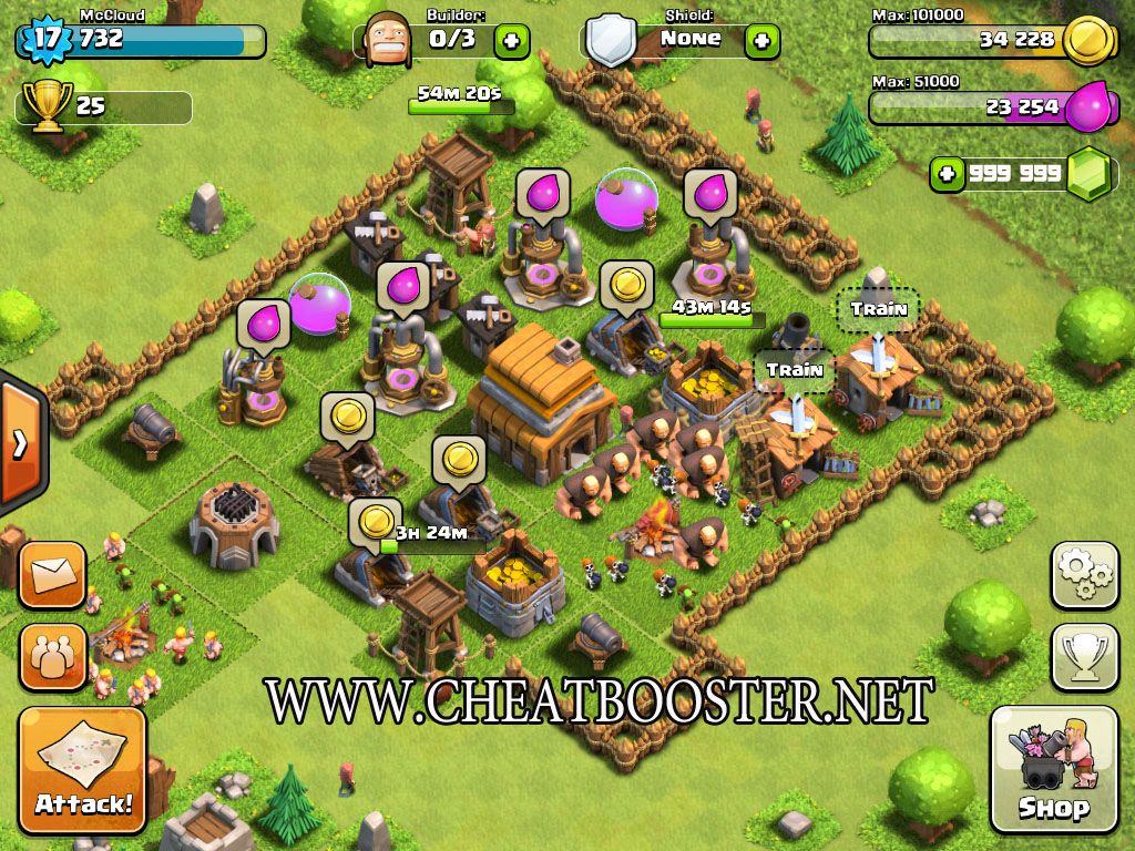 Easy Clash Of Clans Gems Hack Instant(Unlimited 99999)