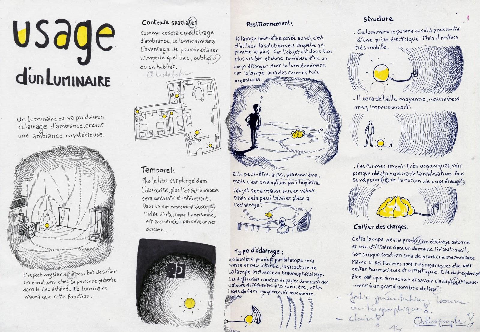 Top Premières Arts Appliqués 2011: Conception d'un luminaire HB08