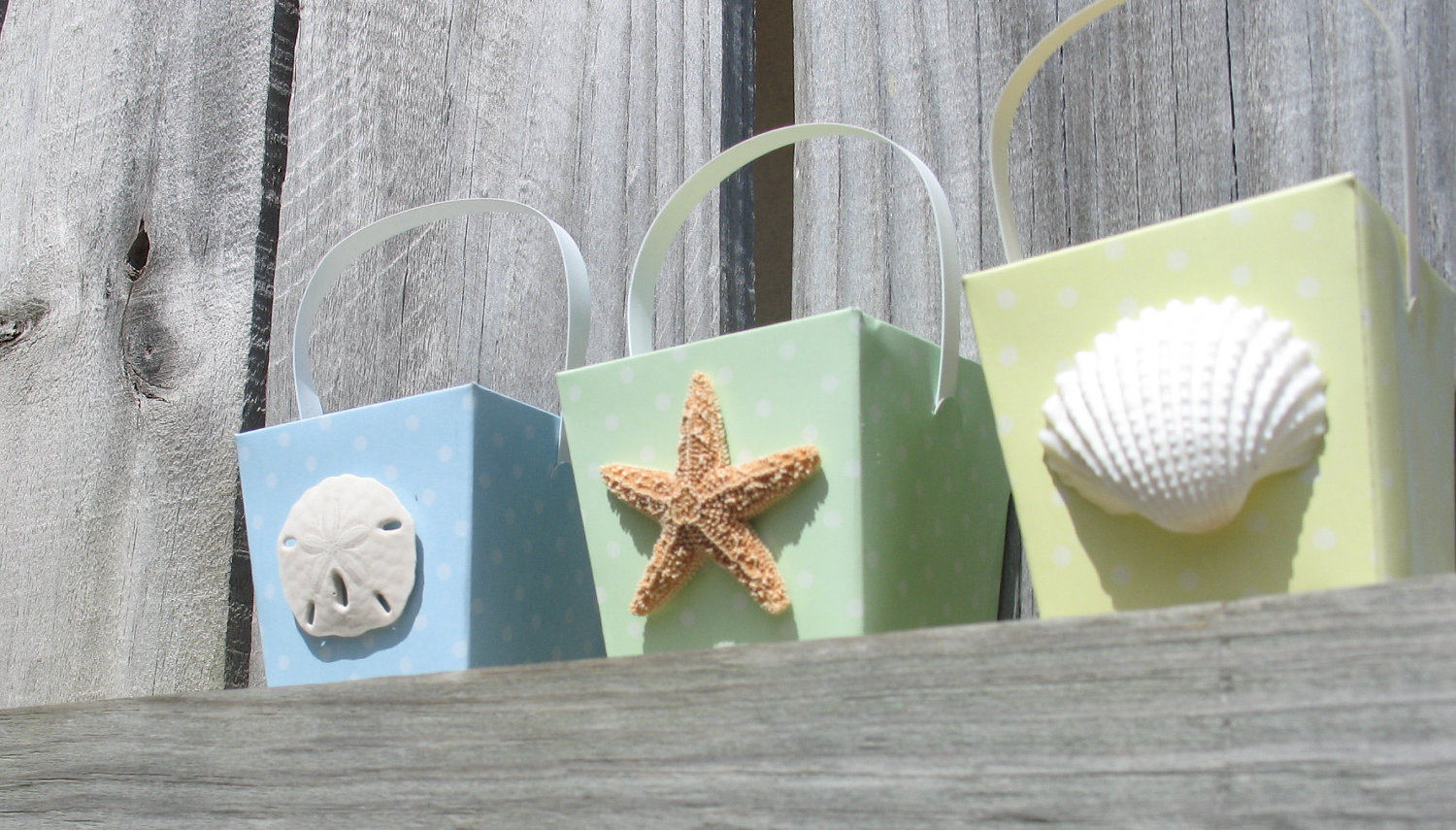Beach Wedding Favor Boxes
