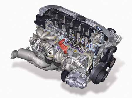 Motor a diesel usado