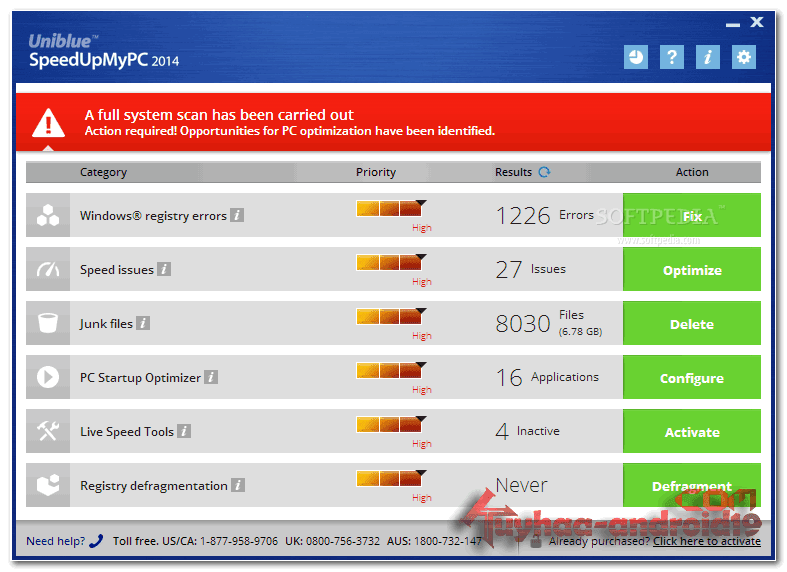 Uniblue SpeedUpMyPc 2014 6.0.1.1 Terbaru Final