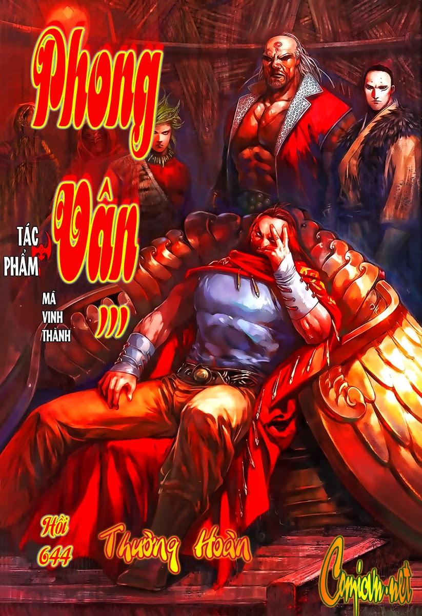 Phong Vân chap 644 Trang 2 - Mangak.info