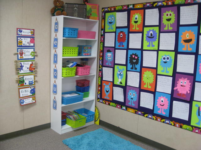Monster Classroom Decor ~ Smiling and shining in second grade classroom pictures
