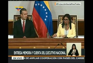 Delcy Rodríguez: Nunca entregaremos el poder