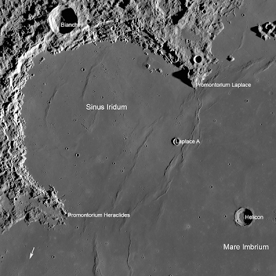 Laplace A crater
