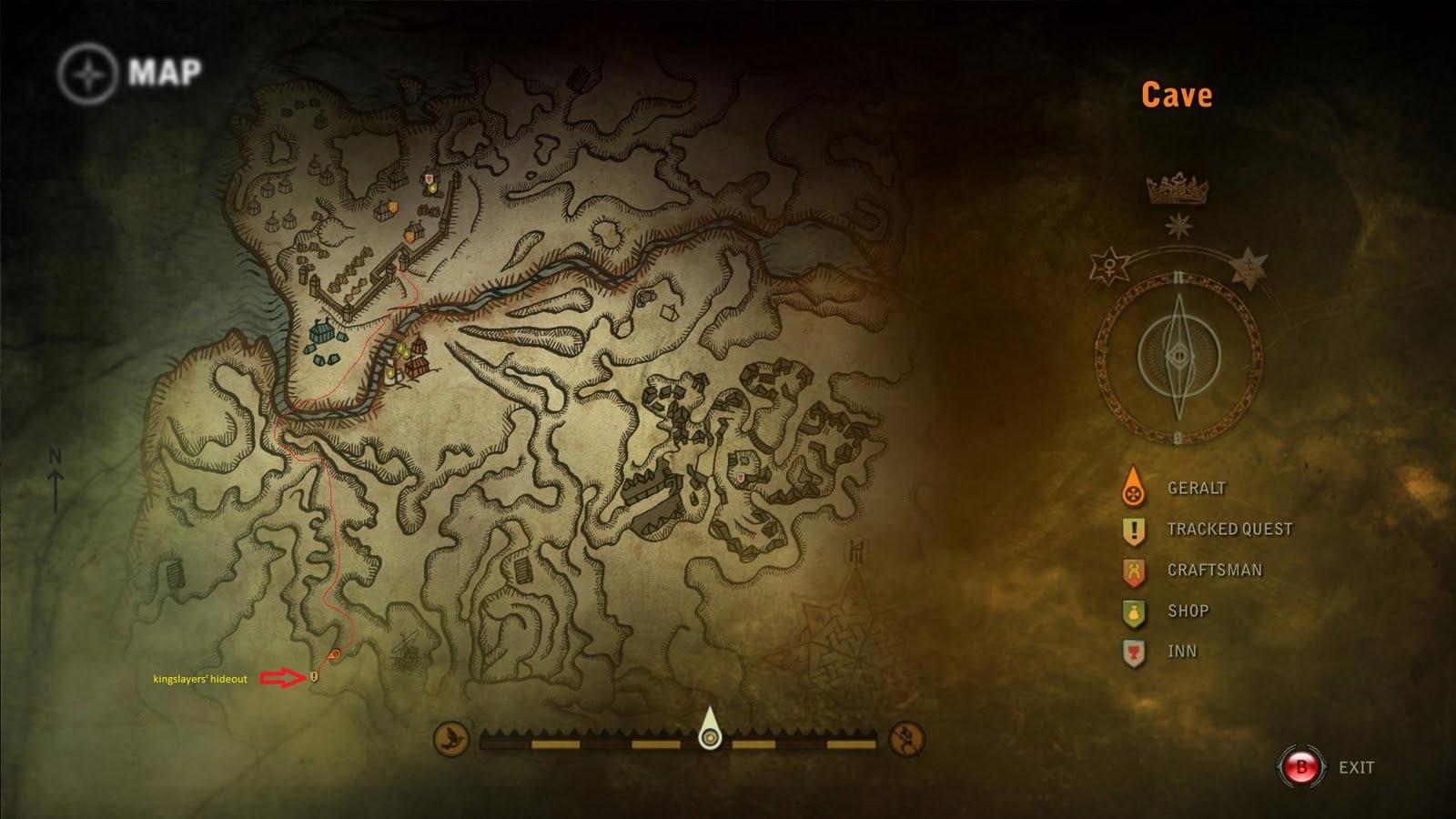 поиск ведьмак 2 мистическая река глава 3 весной