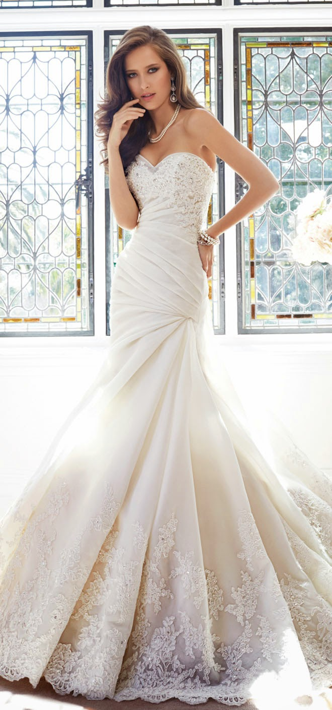 stunning wedding dresses from the sophia tolli fall 2014