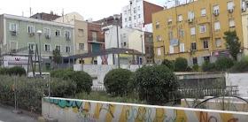 Las obras en la plaza del Poeta Leopoldo de Luis paradas
