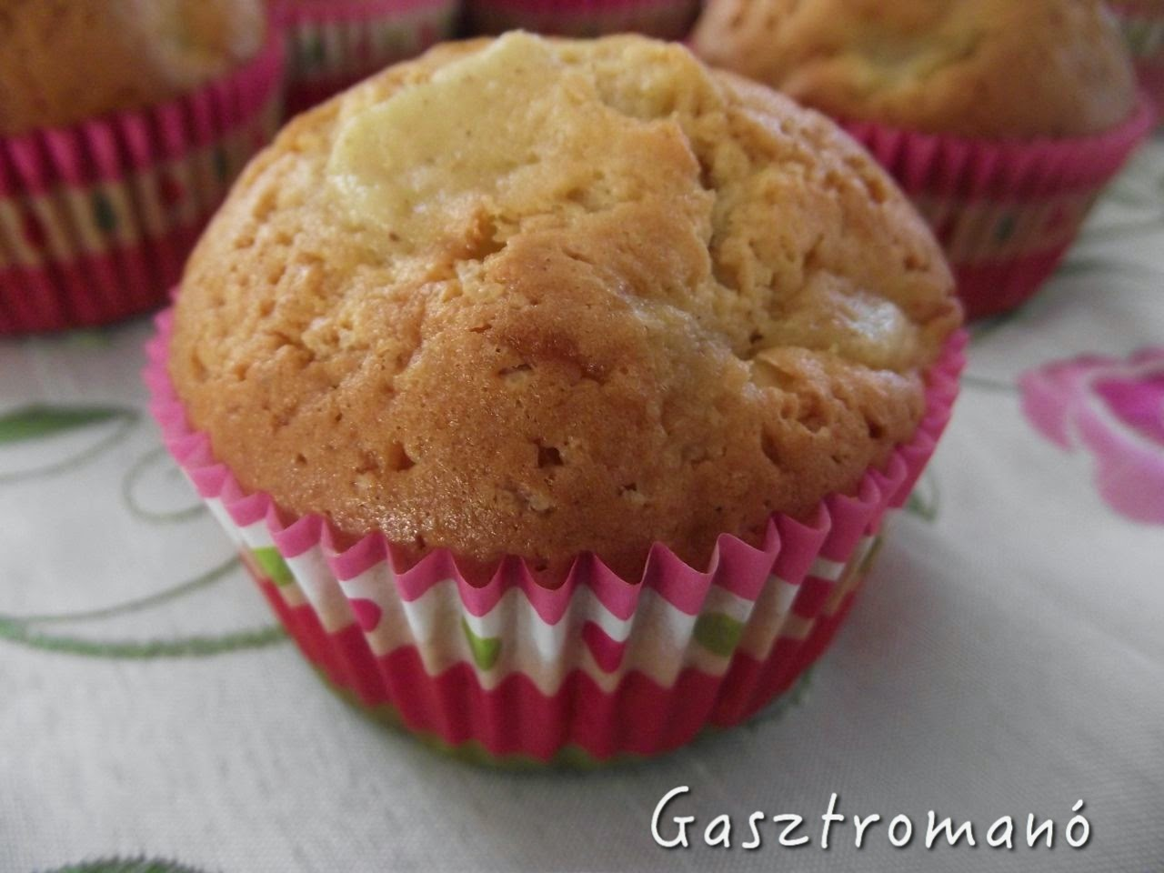 mézes-körtés muffin