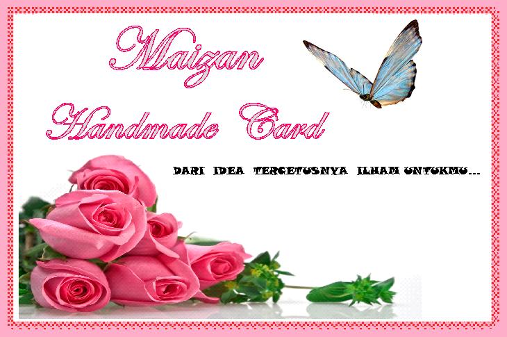 Maizan Handmade Card