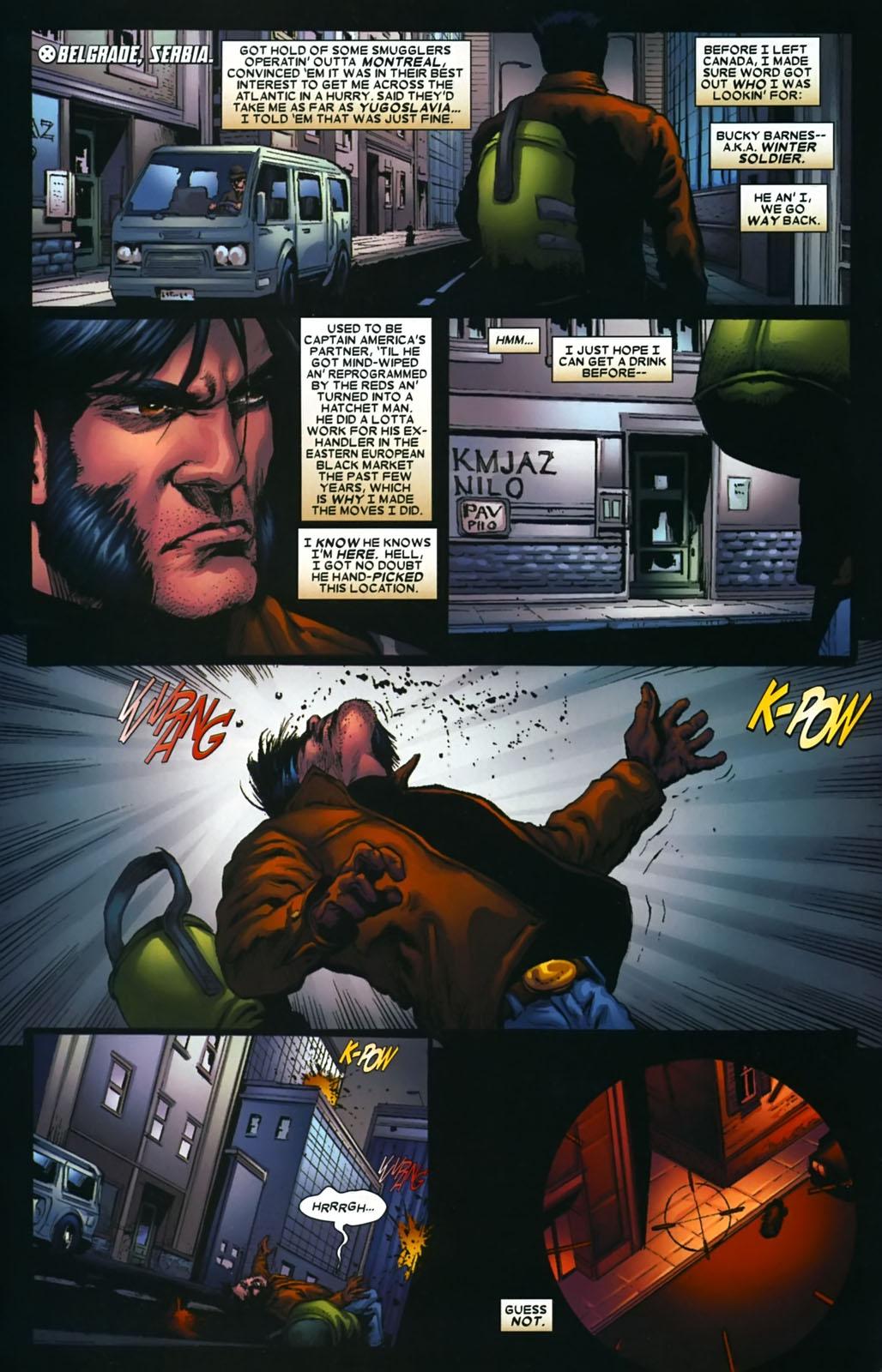 Read online Wolverine (2003) comic -  Issue #39 - 8