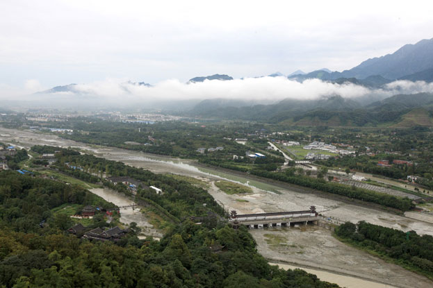 The Dujiangyan Irrigation System in Asia