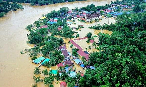 Banjir Ujian Dari Allah SWT Buat Kita Semua