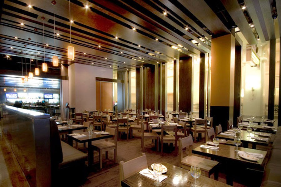 Modern Mexican Restaurant Interior Design Border Grill Las Vegas