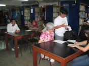 Aktiviti di perpustakaan Jan 2011