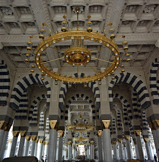 Beautiful Masjid-e-Nabvi Pictures Gallery5