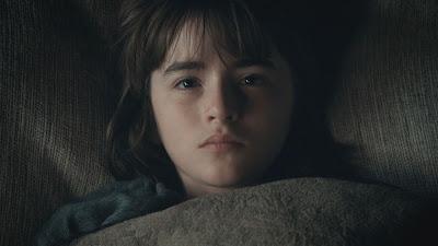 Bran Stark postrado en la cama
