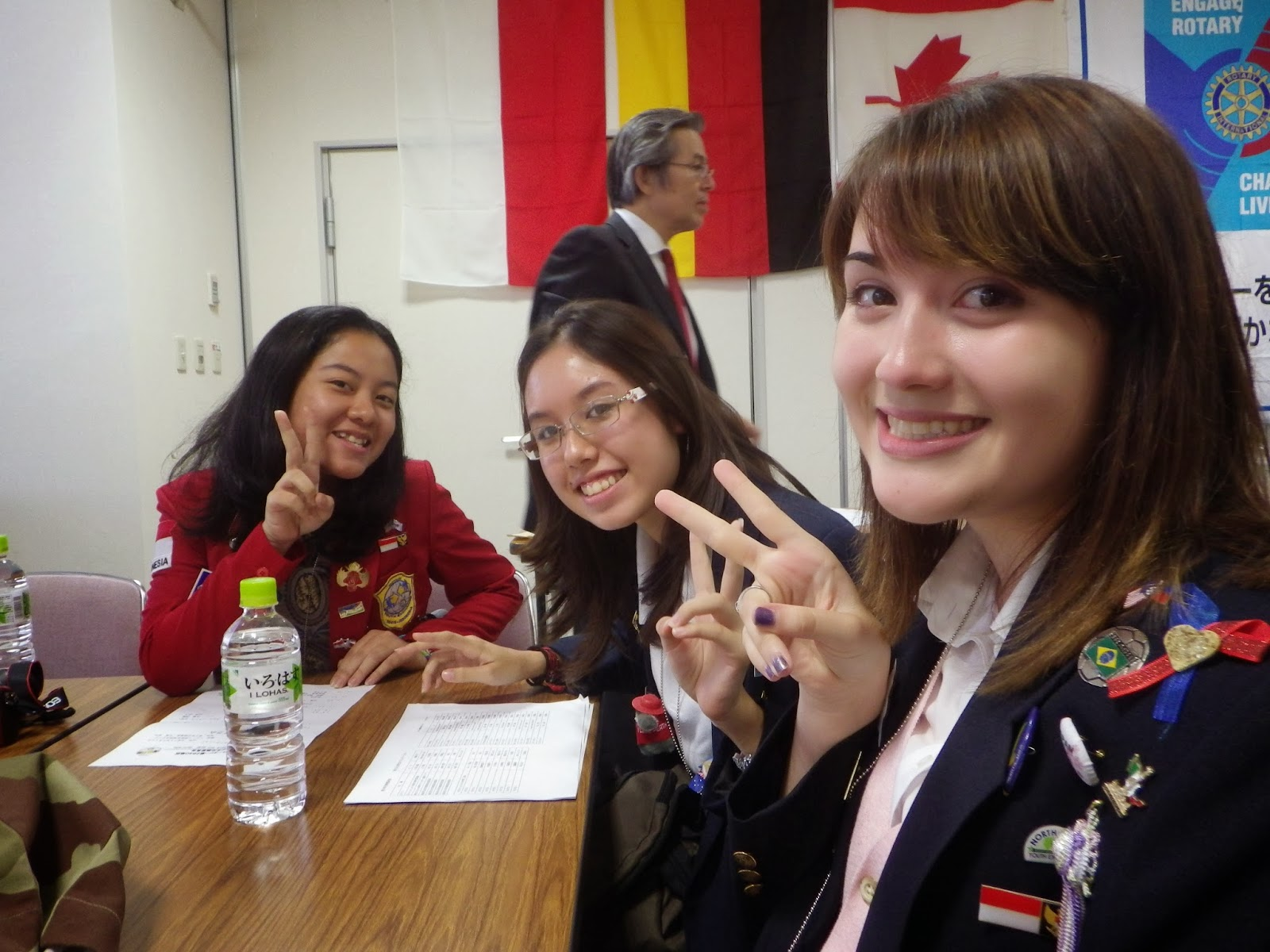 Rotary: High School Study Abroad in Japan Questions! :3?