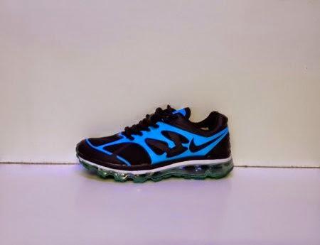 Nike Air Max Fitsole 2 Men hitam biru,nike import,nike murah nike running
