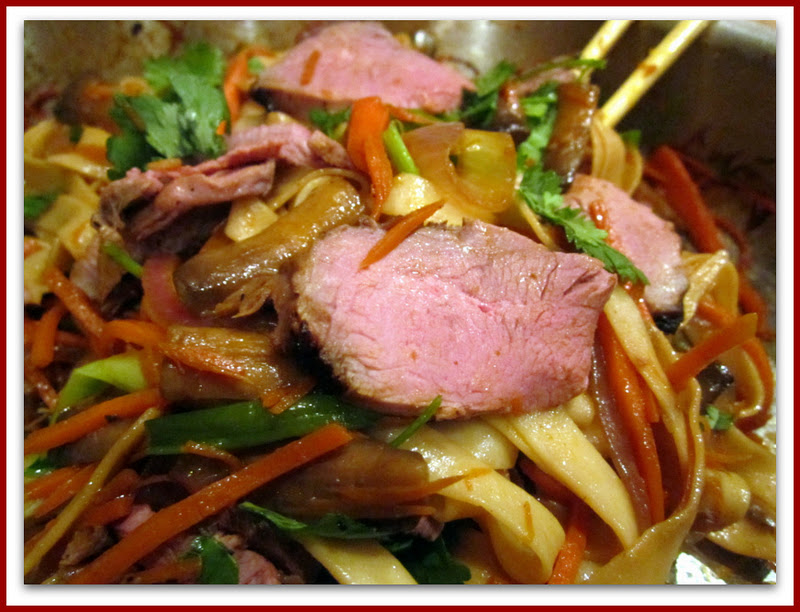 Red kitchen recipes pad thai with duck breast for Fish sauce kroger