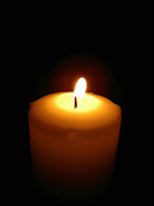 RIP - In Memory Candle
