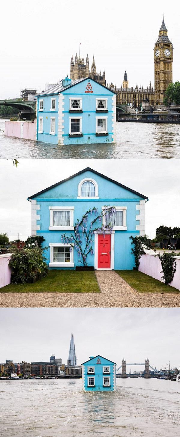 Floating House Thames Images