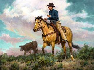 Pinturas De Vaqueros Cuadros