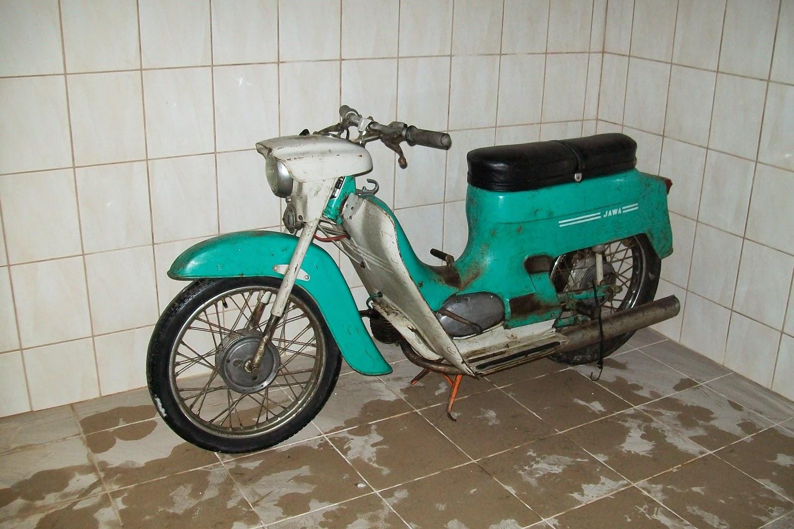 Jawa 50 typ 20 przed renowacją