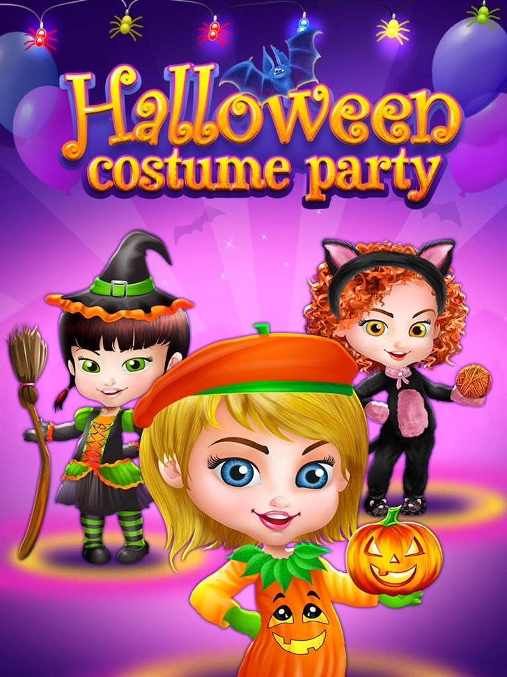 Halloween Costume Party - Spooky Salon, Spa Makeover & Dress Up App iTunes App By Kids Fun Club by TabTale - FreeApps.ws