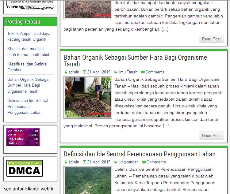 Artikel jokowarino.com Tempat Berbagi Informasi Mengenai Pertanian Indonesia