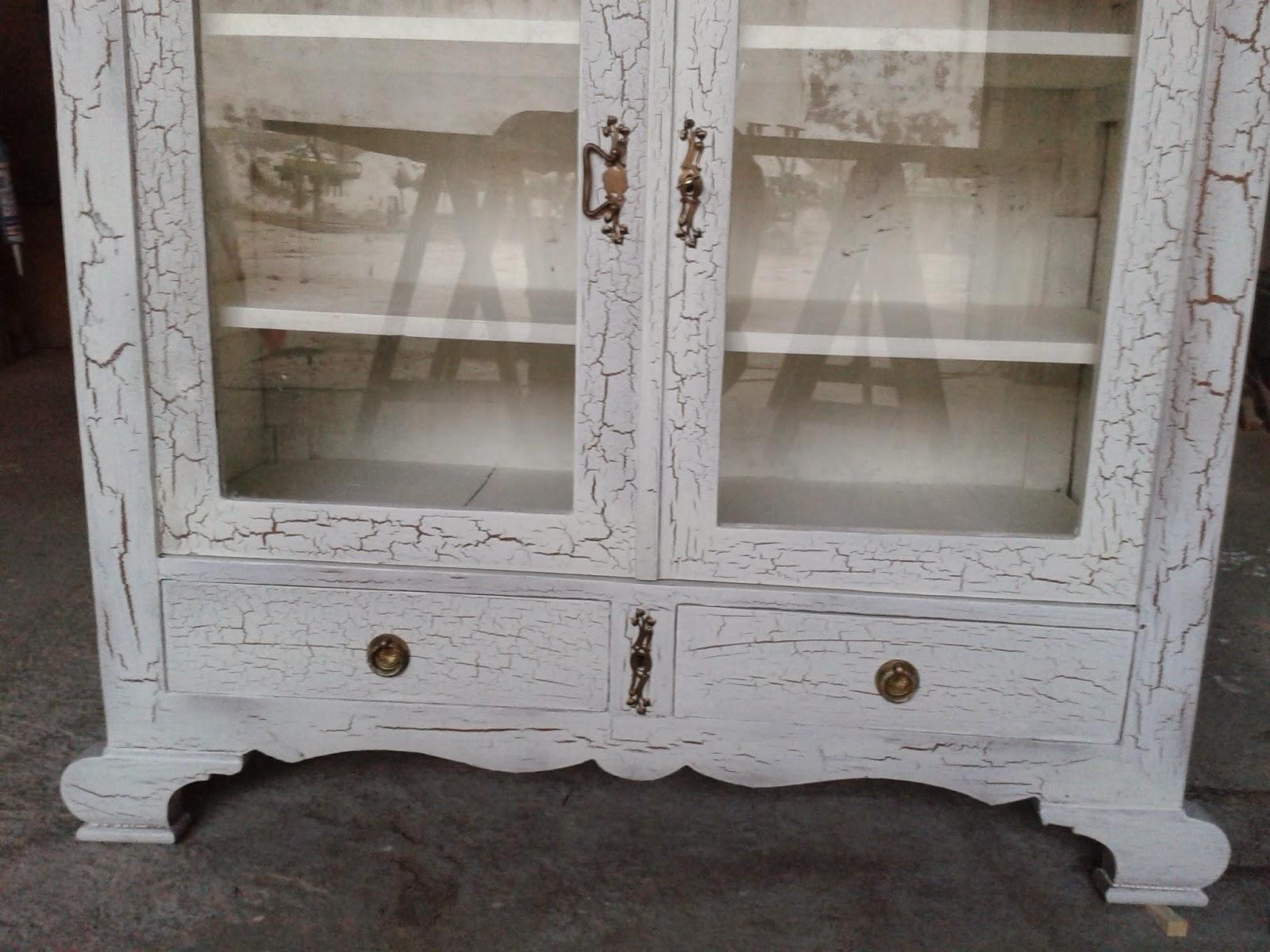 el taller de la madera mueble craquelado