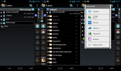 Preview X-plore File Manager | andromin