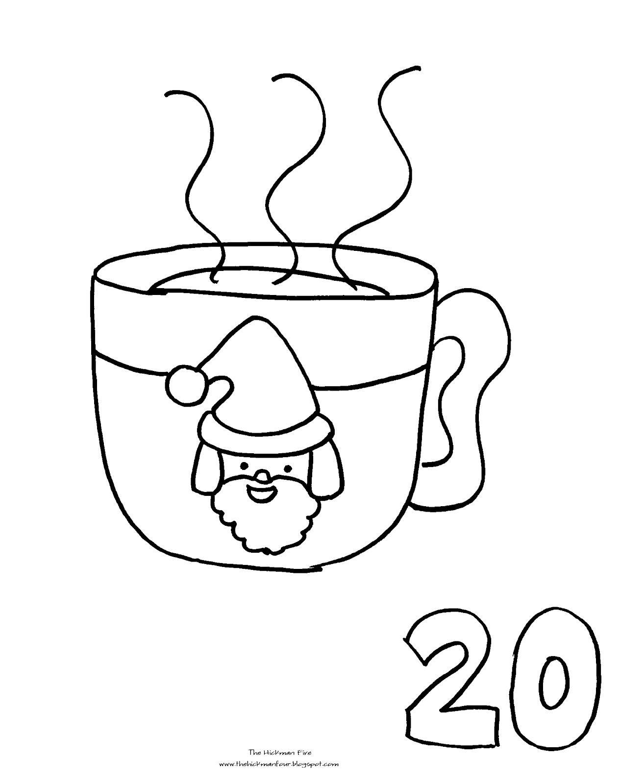 Search Results For Christmas Countdown Coloring Pages Countdown Coloring Pages