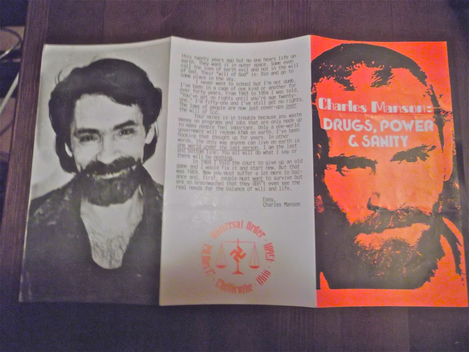 charles manson criminology paper Looking for the perfect charles manson you can stop your search and come to etsy, the marketplace where sellers around the world express their creativity through handmade and vintage goods with etsy, buyers like you can find hundreds or thousands of unique, affordable charles manson let's get started.