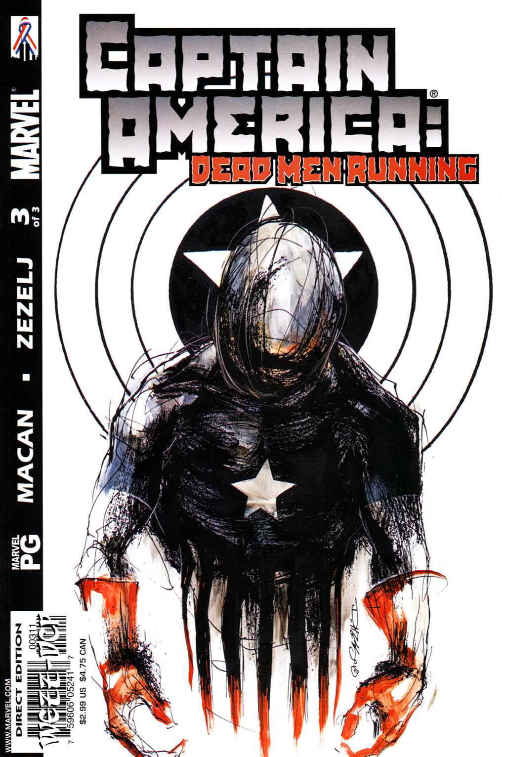 Captain America (1998) 50d Page 1