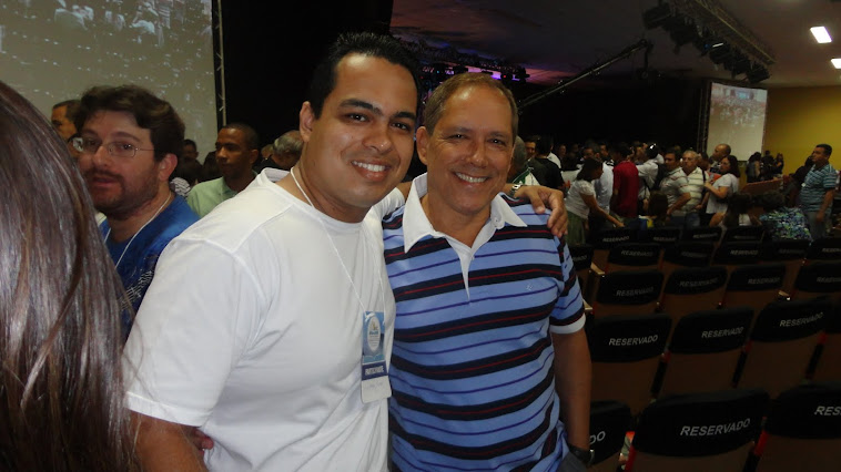 Eu e o Pr Josué Gomes