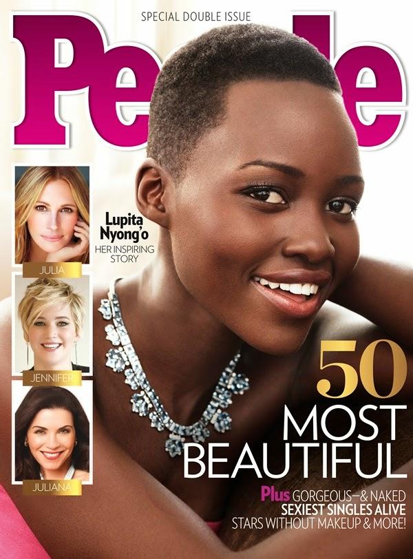 Lupita Nyong'o a mulher mais linda do mundo 2014