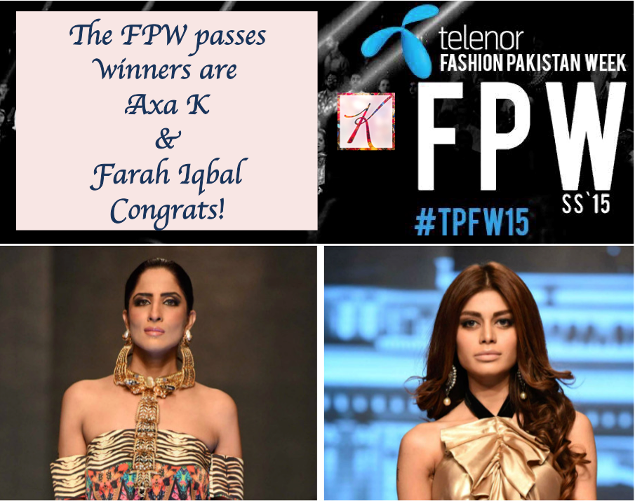 winners for telenor fashion pakistan week 2015